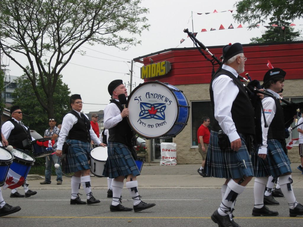 St. Andrews Pipes and Drums Photo Credit: Angela Warner