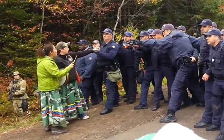 Mi'kmaq women and the RCMP